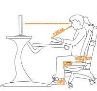 Стол + стул = здоровый ребенок.
