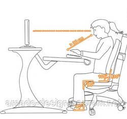 Стіл + стілець = здорова дитина.