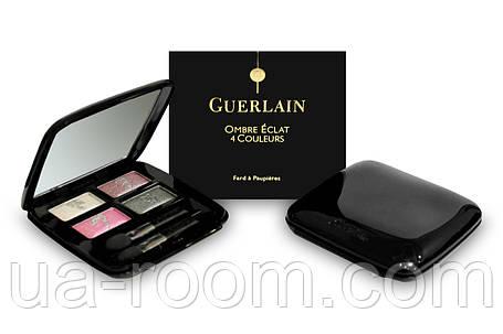 Тени для век Guerlain omber eclat 4 coloures (черная коробка), фото 2