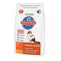 Hill`s Science Plan Feline Hairball Control от комков шерсти - 5кг