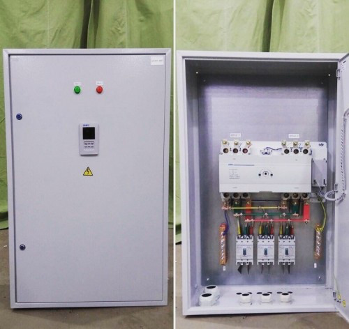 Шафа АВР 63А, 2 введення, IP31 CHINT