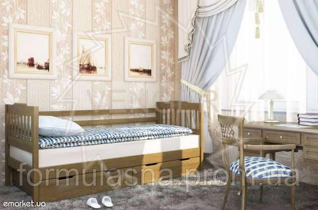 Кровать подростковая Ева с ящиками