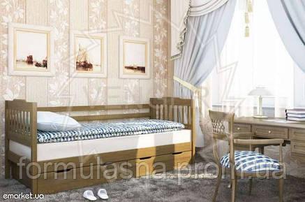 Кровать подростковая Ева с ящиками, фото 2
