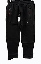 Брюки теплые Shooter зимние мужские спортивные штаны Шутер  Черные с красным на карманах
