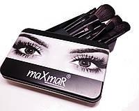 Набор кистей MaxMar в металлическом чехле (12 шт.) MB-211