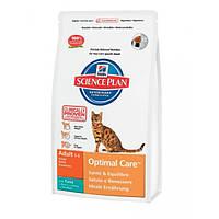 Hill`s Feline Adult Optimal Care (тунец) - 2кг
