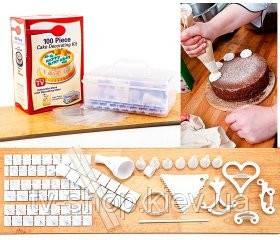 Набор для украшения торта 100 предм. Cake Decoreting kit