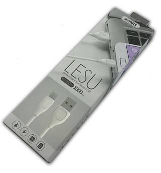 "Кабель micro USB ""Remax"" Lesu RC-050 White"
