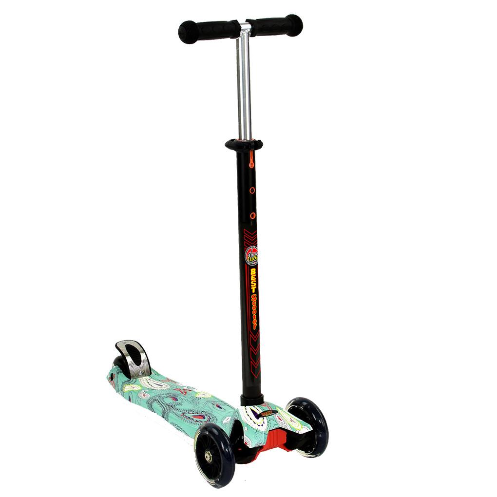 Самокат Best Scooter А 24653 /779 1398 Черный Maxi 62844