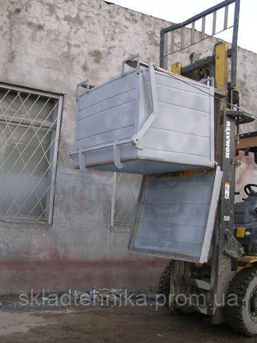 Бак для отходов с откидным дном