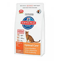 Hill`s Feline Adult Optimal Care (ягненок) - 5 кг