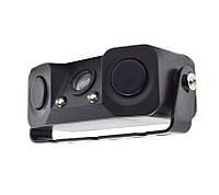 Камера автомобильная с датчиком парковки 3в1. Видео Сенсор 3089, фото 1
