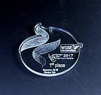 Медаль акриловая