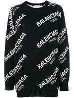 Свитер Balenciaga женский кашемир черный, фото 1