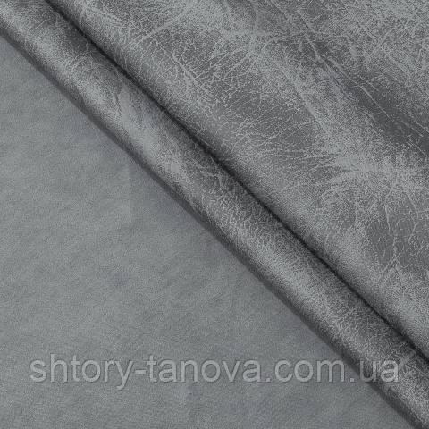 Замша двухсторонняя, однотонный, мрамор тёмно-серый