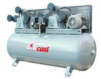 Компрессор поршневой, Aircast, тандем, РМ-3129.05, (СБ4/Ф-500.LB75ТБ) , фото 1