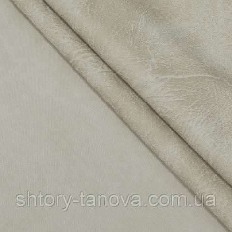 Замша двухсторонняя, однотонный, мрамор ракушка