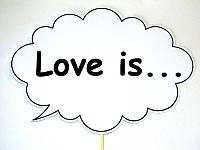Фотобутафория свадебная Bonita Love is 1 предмет (34), фото 1