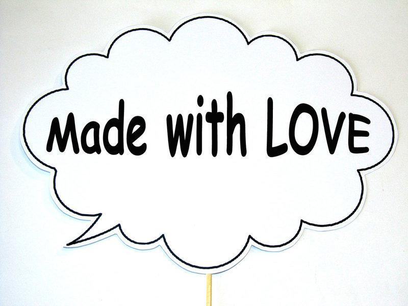 Фотобутафория свадебная Bonita Made with love 1 предмет (56)