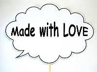Фотобутафория свадебная Bonita Made with love 1 предмет (56), фото 1