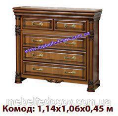 Комод Аманда (Скай) 1140х1060х450 мм.