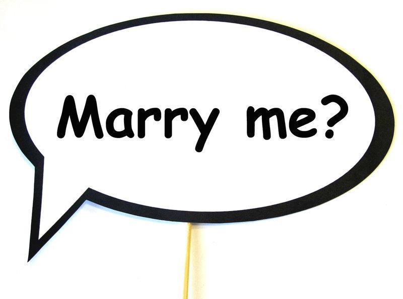 Фотобутафория свадебная Bonita Marry me 1 предмет (53)