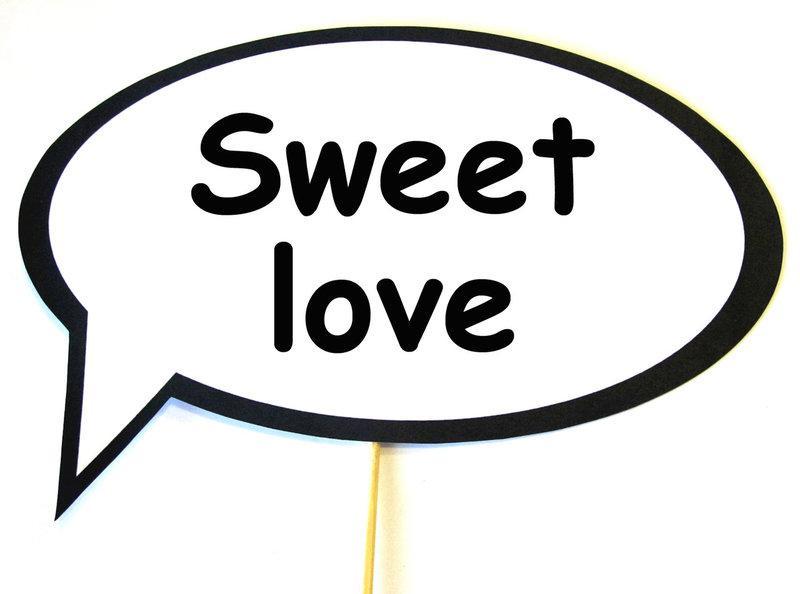 Фотобутафория свадебная Bonita Sweet love 1 предмет (59)