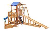 Детская площадка -  Капитан с зимней горкой  Babyland-13 SportBaby