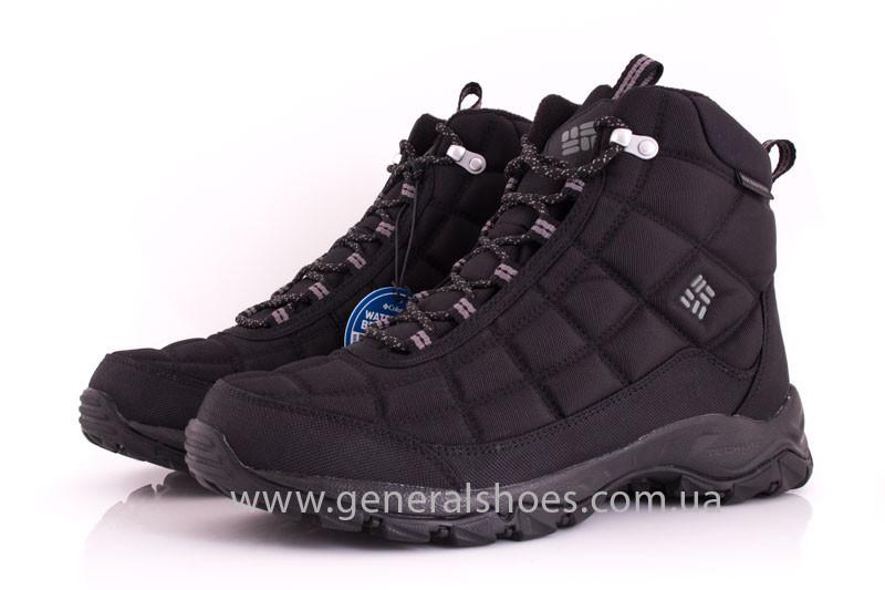 ffd0f043d63 Мужские ботинки зимние Columbia FIRECAMP BOOT BM 1766-012 черные