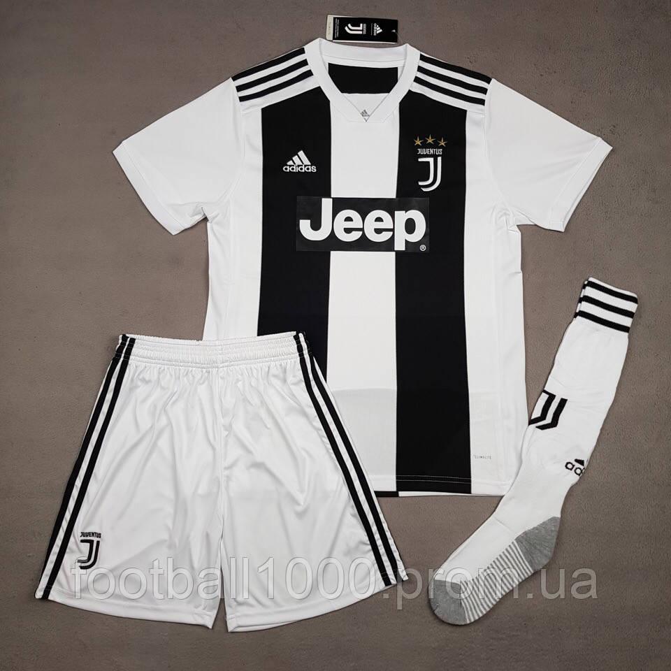 Форма футбольная Adidas FC Juventus Cristiano Ronaldo №7 2018-19 - ГООООЛ›  спортивная 4f1611b11f2