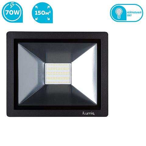 Светодиодный прожектор Ilumia 044 FL-70-NW 70W 4000К 7000Lm