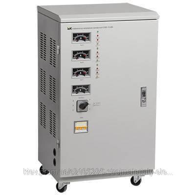 Трёхфазный стабилизатор напряжения IEK СНИ3-15 кВА, фото 2