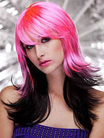 Разноцветный парик женский карнавальный