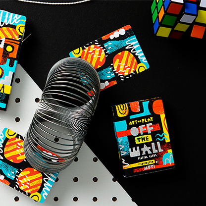 Карты игральные | Off the Wall Playing Cards by Art of Play