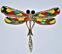 Брошь - стрекозка, фото 1