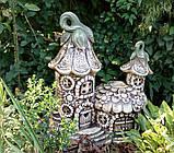 Фигура для сада Домик феи из керамики, фото 2