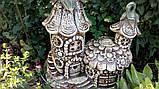 Фигура для сада Домик феи из керамики, фото 4
