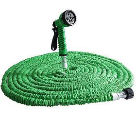 Шланг для полива поливочный шланг XHOSE 60 м с распылителем