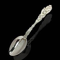 Серебряная десертная ложка, 875 проба