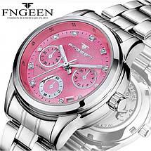 Часы женские механические Fngeen Classic Pink eps-2002, фото 3