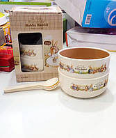 Набор детских тарелок Bobby Rabbit Wonderful Life Большой