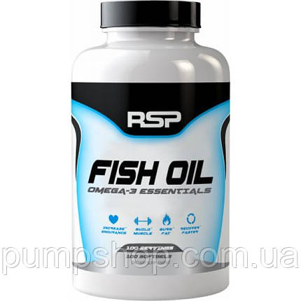 Омега-3 RSP Nutrition Fish Oil - 60 порц. (900 мл омеги-3 на капсулу), фото 2