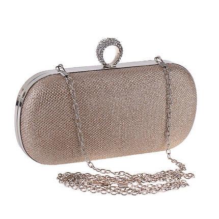 Вечерняя женская сумочка Bluebell Ring Gold, фото 2