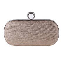 Вечерняя женская сумочка Bluebell Ring Gold, фото 3