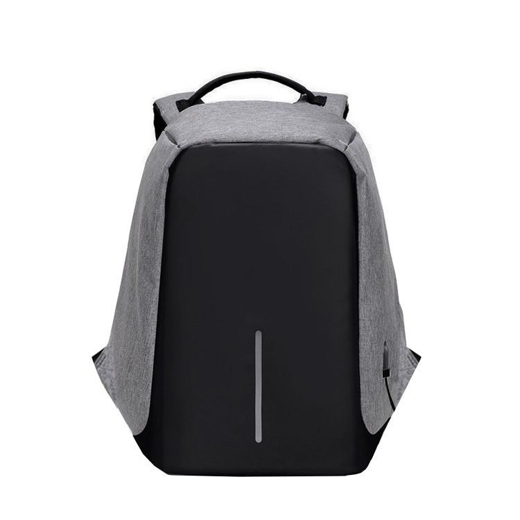 Мужской рюкзак BritBag Bobby антивор серый