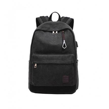 Мужской рюкзак Augur Deyizu черный, фото 2