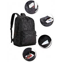 Мужской рюкзак BritBag Bolo черный eps-7015, фото 3
