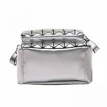 Рюкзак женский Crystal серебряный eps-8094, фото 2