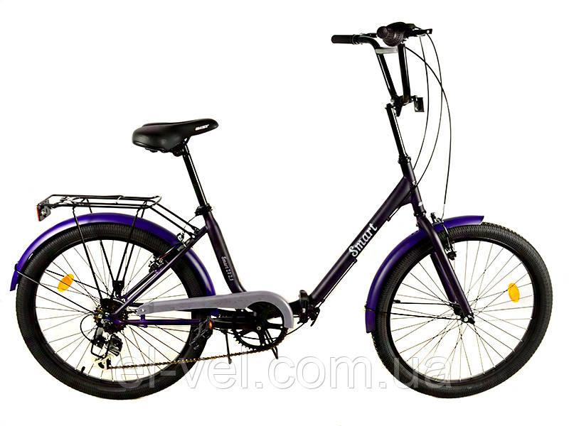 Городской дорожный велосипед АИСТ Люкс Smart 24.2.1