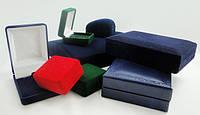 Коробки бархатные для наград и значков в ассортименте